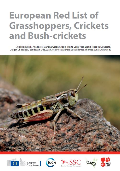 European Red List of Grasshoppers, Crickets & Bush-crickets