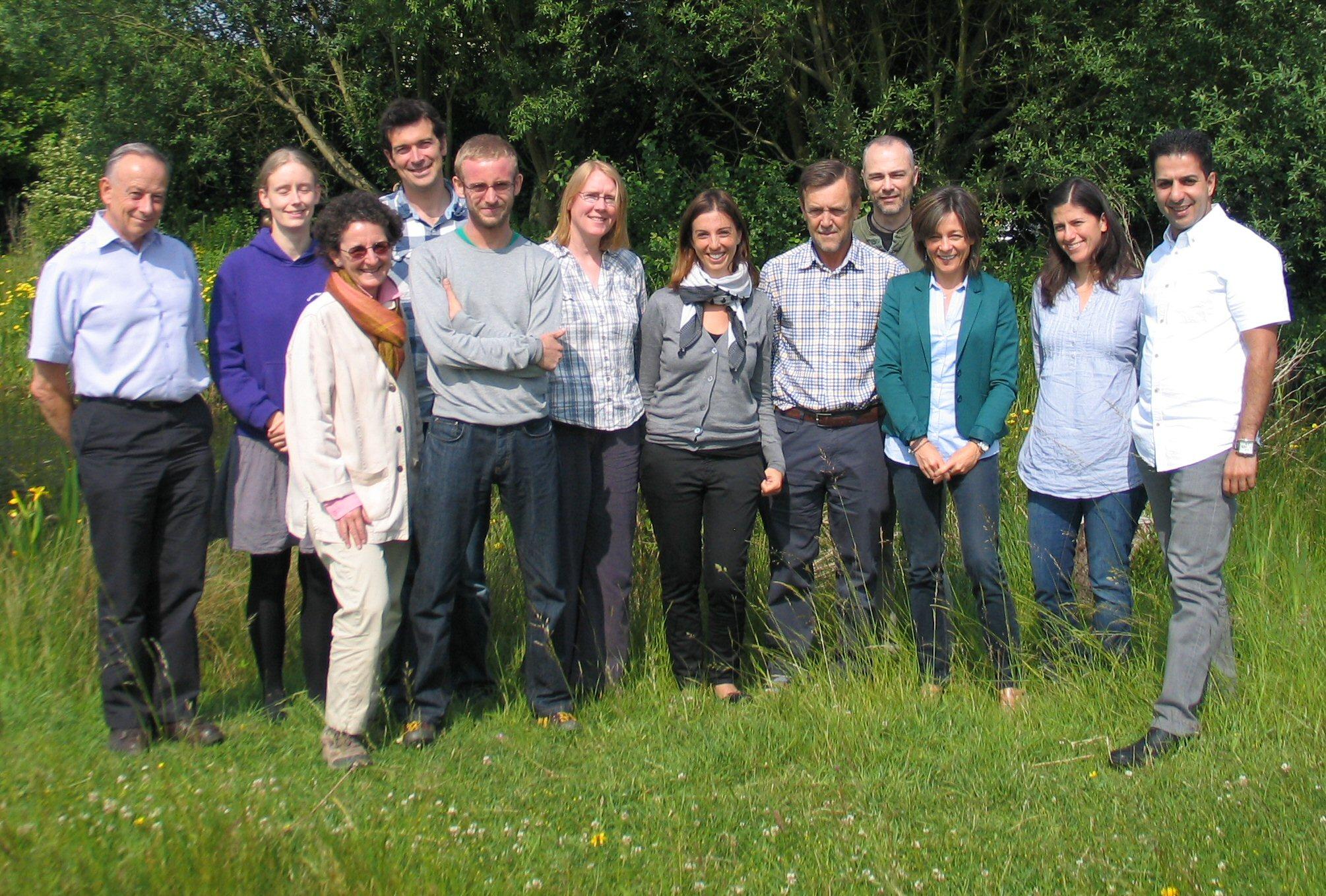 Participants of IUCN Red List Trainers' Workshop, Cambridge, UK (June 2013)
