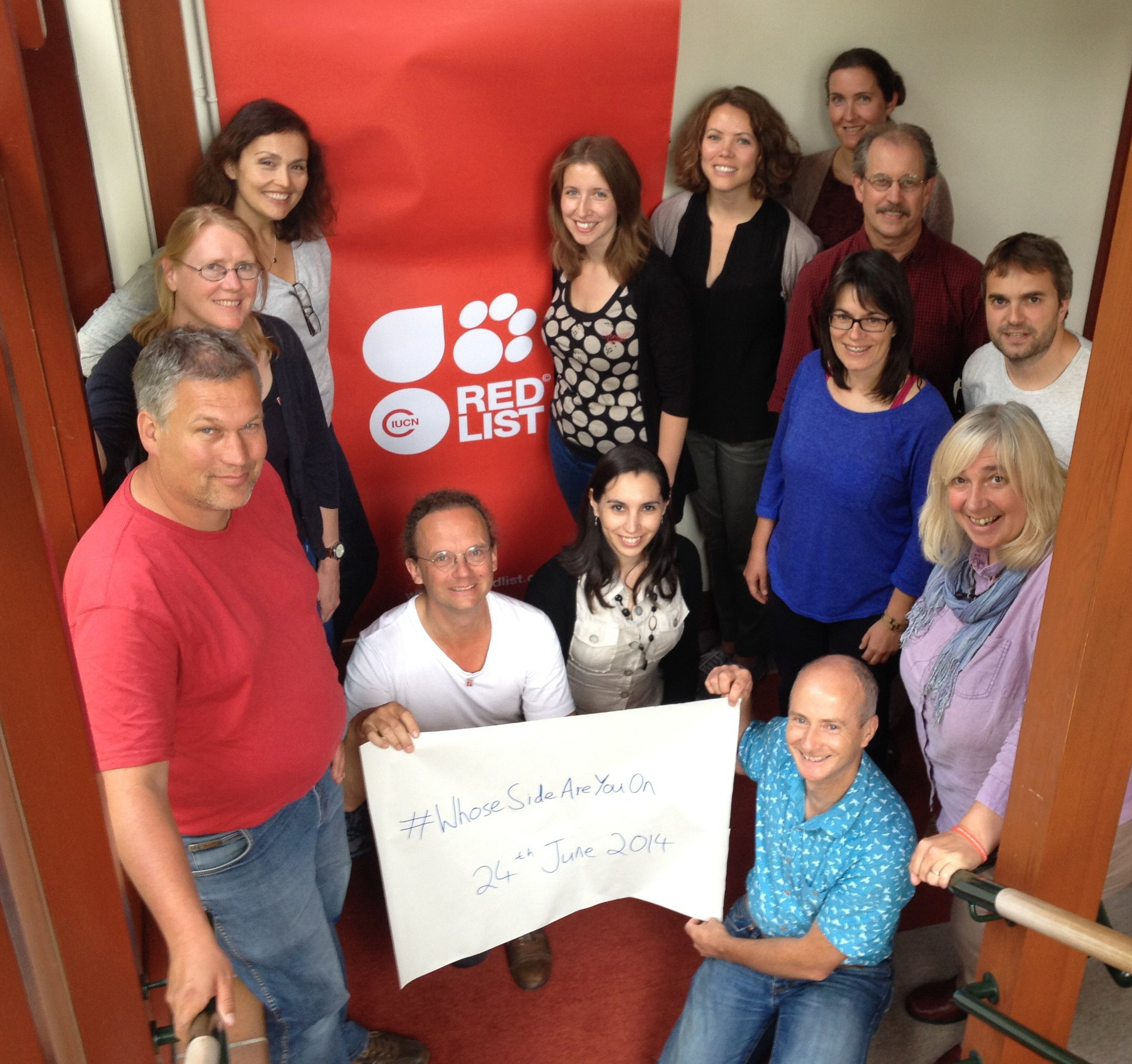 Participants of IUCN Red List Trainers' Workshop, Cambridge, UK (June 2014)