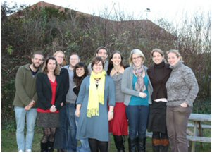 Participants of preliminary IUCN Red List Trainers' Workshop, Cambridge, UK (December 2011)