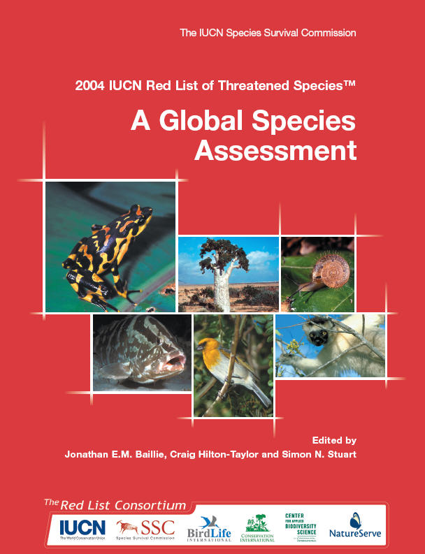 Pdf list iucn red 2014